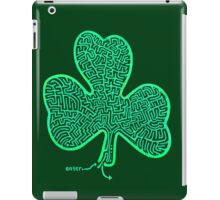 A-MAZe-thING Shamrock (read rules) iPad Case/Skin