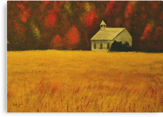 """""""Mountain Autumn""""... prints and products by © Bob Hall"""