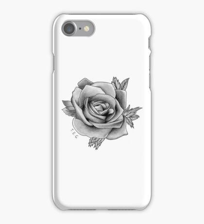 Alex Gaskarth Rose Tattoo iPhone Case/Skin