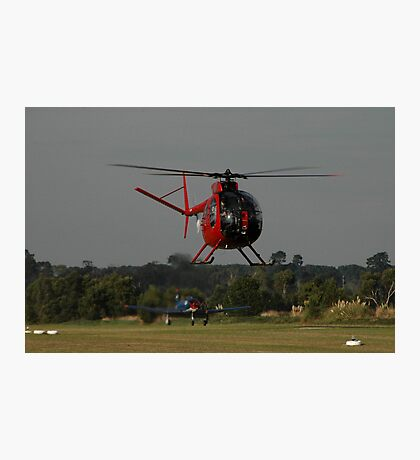 Hughes 500 VH-AUF,Tyabb Airshow,Australia 2010 Photographic Print