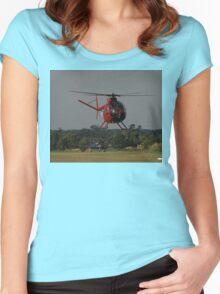 Hughes 500 VH-AUF,Tyabb Airshow,Australia 2010 Women's Fitted Scoop T-Shirt