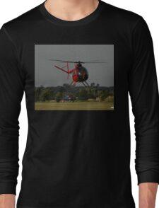 Hughes 500 VH-AUF,Tyabb Airshow,Australia 2010 Long Sleeve T-Shirt