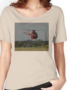 Hughes 500 VH-AUF,Tyabb Airshow,Australia 2010 Women's Relaxed Fit T-Shirt