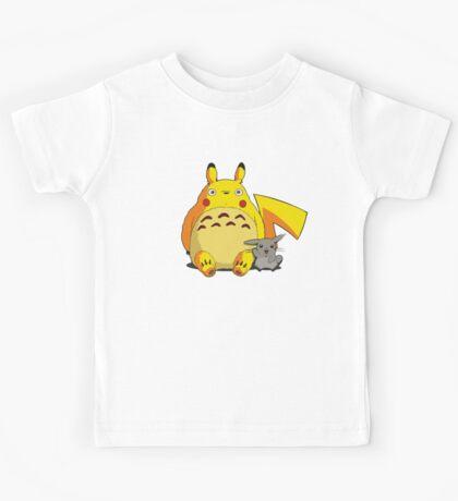 Totorotchu and Pikaro Kids Tee