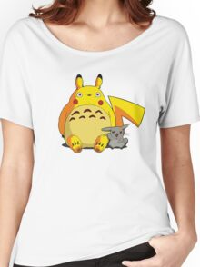 Totorotchu and Pikaro Women's Relaxed Fit T-Shirt