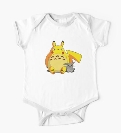 Totorotchu and Pikaro One Piece - Short Sleeve