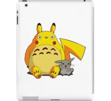 Totorotchu and Pikaro iPad Case/Skin