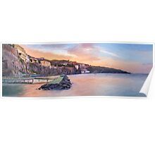 Sorrento Sunset Poster