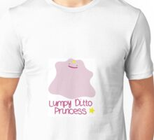 Lumpy Ditto Princess Unisex T-Shirt