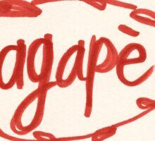 Agape Sticker