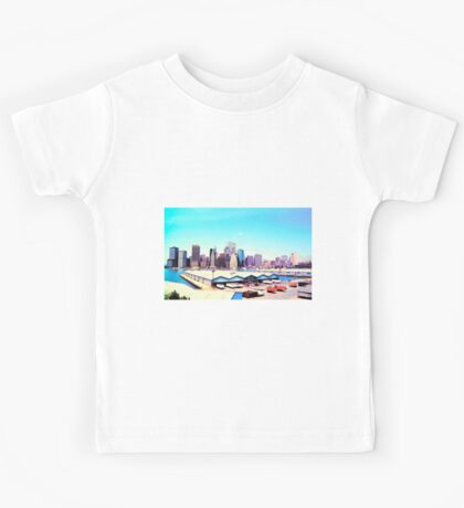 Lower Manhattan Kids Tee