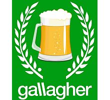 Gallagher Photographic Print