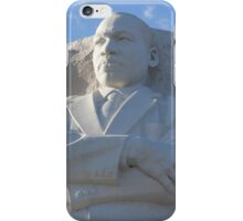 Statue of Dr Martin Luther King Jr iPhone Case/Skin