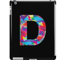 Fun Letter - D iPad Case/Skin