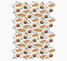 Fast Food One Piece - Long Sleeve