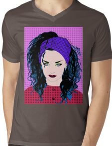Boy George By BlissNights Mens V-Neck T-Shirt