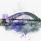 Sydney Harbor Bridge by artsandsoul