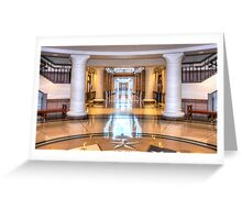 Inside the Capitol Greeting Card