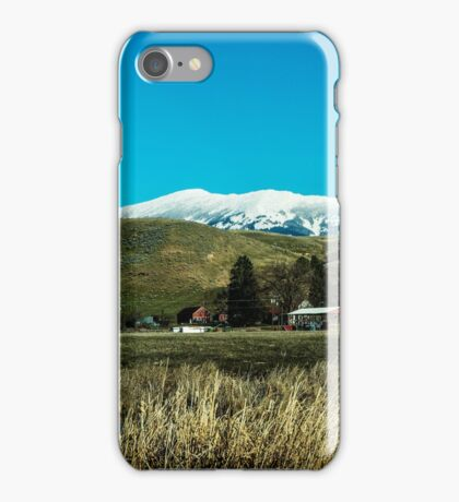 The Holland Ranch, Plains, Montana iPhone Case/Skin