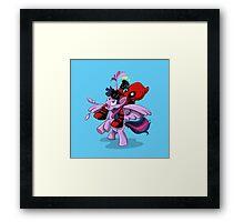Pony Tail! Framed Print