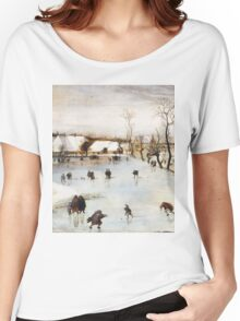 Jacob Grimmer - The Winter . Landscape  Women's Relaxed Fit T-Shirt