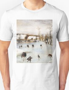 Jacob Grimmer - The Winter . Landscape  Unisex T-Shirt