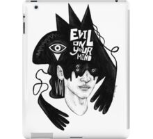 Evil on Your Mind 01 iPad Case/Skin
