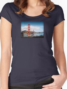 Golden Gate Women's Fitted Scoop T-Shirt