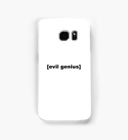 Evil Genius Samsung Galaxy Case/Skin