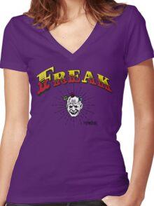 "Marauder Wear ""Freak"" Tee  Women's Fitted V-Neck T-Shirt"