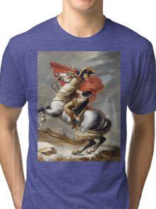 Jacques-Louis David - Bonaparte . The Emperor Napoleon , Napoleon, Fashion Portrait Tri-blend T-Shirt