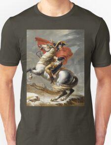 Jacques-Louis David - Bonaparte . The Emperor Napoleon , Napoleon, Fashion Portrait Unisex T-Shirt