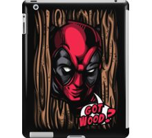 Got Wood? iPad Case/Skin