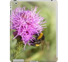 Summer time bumble-bee iPad Case/Skin