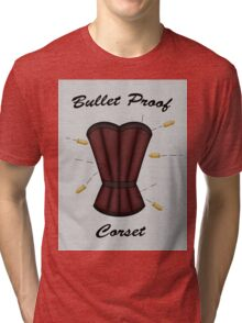 Bulletproof Corset Tri-blend T-Shirt