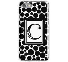 C Bubbles iPhone Case/Skin