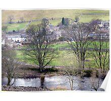 A Dales Village Poster