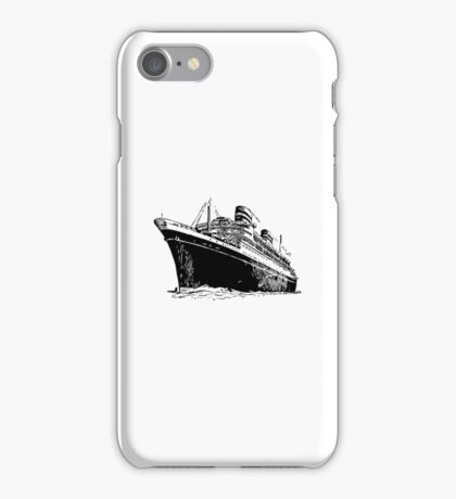 Ocean Liner iPhone Case/Skin