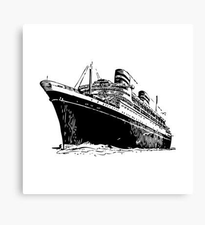 Ocean Liner Canvas Print