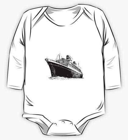 Ocean Liner One Piece - Long Sleeve