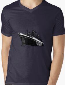 Ocean Liner Mens V-Neck T-Shirt