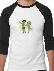 Young Amourshipping Men's Baseball ¾ T-Shirt