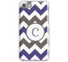 Purple Chevron C iPhone Case/Skin