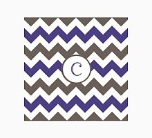 Purple Chevron C Unisex T-Shirt