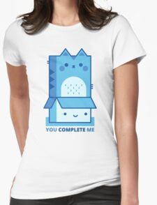 You Complete Me Womens Fitted T-Shirt