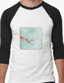 Live life in full bloom Men's Baseball ¾ T-Shirt