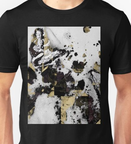 Abstract Calligraphy Unisex T-Shirt