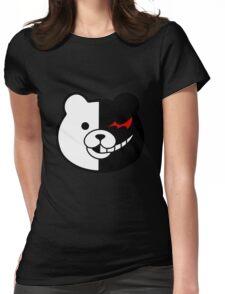 Danganronpa Monokuma  Womens Fitted T-Shirt