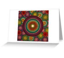 Rainbow Mandala Greeting Card