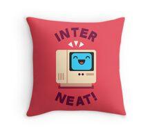 Interneat!  Throw Pillow